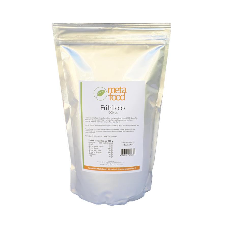 Eritritolo 1 kg - Dolcificante naturale