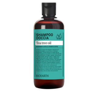 Bioearth - Shampoo-doccia tea tree oil