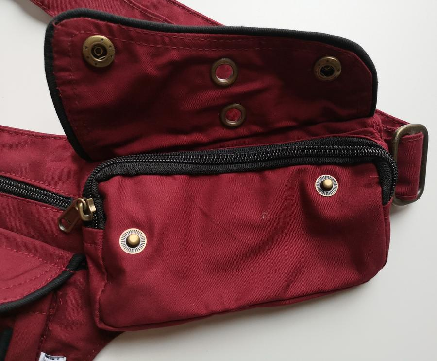 "Hip Bag  ""FLORENCE"" red"