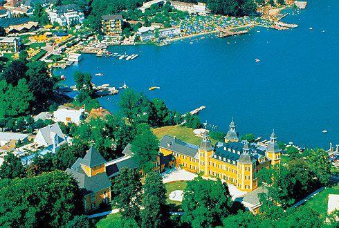 AUSTRIA Carinzia Lago di Wörther See
