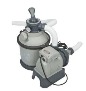 Pompa a sabbia per piscine filtro depuratore sabbia piscina piscine 6 vie 4 mc 4500 lt h INTEX 28644
