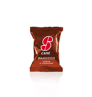 "100 CAPSULE ESSSE CAFFE' ""BAROCCO"""