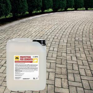 Protettivo per cemento FILAWP70 protettivo antimacchia ravvivante per cemento 5 LT