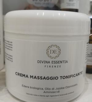 Crema massaggio tonificante professionale Divina Essentia