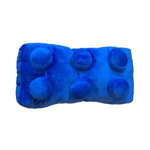 Cuscino Lego Mattoncino rettangolare Virca Bricks 42x22x18 cm Blue Rosso Verde 3pcs