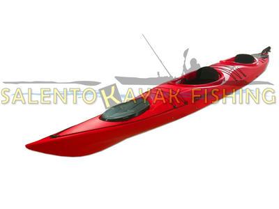 SKF Turismo Tandem - Kayak da turismo Biposto - 520 cm - completo accessori