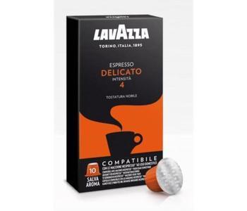 100 CAPSULE CAFFE' LAVAZZA COMPATIBILI NESPRESSO DELICATO