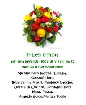 Tisana Frutti e Fiori - 100gr