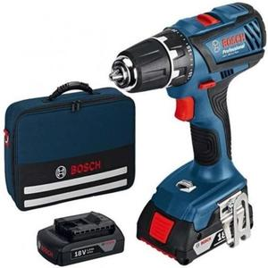 Trapano Avvitatore a batteria BOSCH 18 Volt Bosch GSR 18-2 LI Professional Valigetta e 2 Batterie litium - 0615.990.G6U GSR 18-2 LI
