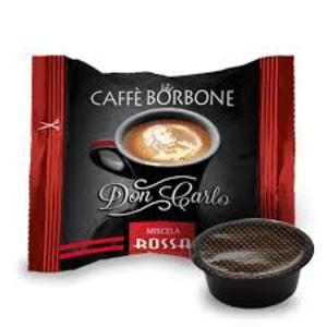 500 CAPSULE COMPATIBILI A MODO MIO CAFFE' BORBONE DON CARLO MISCELA ROSSA