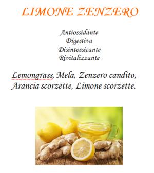 Tisana Limone Zenzero - 100gr