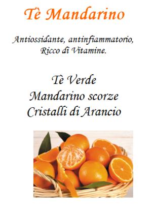 Tè Mandarino - 100gr