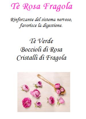 Tè Rosa Fragola - 100gr