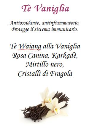 Tè Vaniglia - 100gr