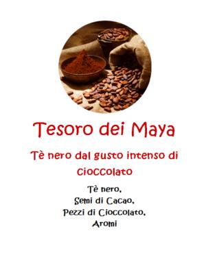 Tesoro dei Maya - 100gr