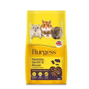 Burgess Hamster, Gerbil & Mouse