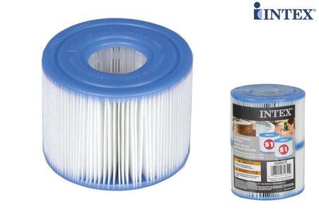 Cartucce per filtri ricambio SPA Intex idromassaggio universale 29001 pezzi 2