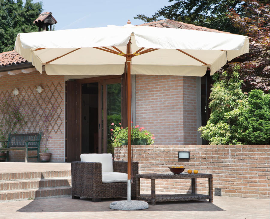 Ricambio copertura per ombrellone pesante in legno 3×4 mt. – COP 4004