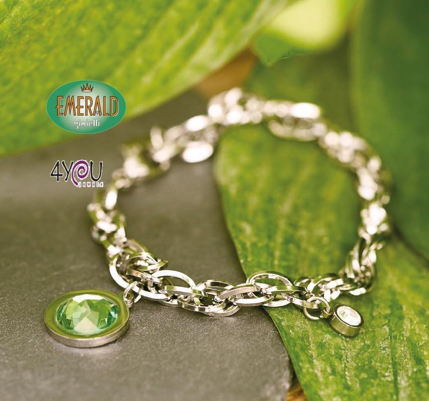 B09666 Bracciale Donna 4you jewels
