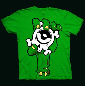MARFI special Zombie hand t-shirt