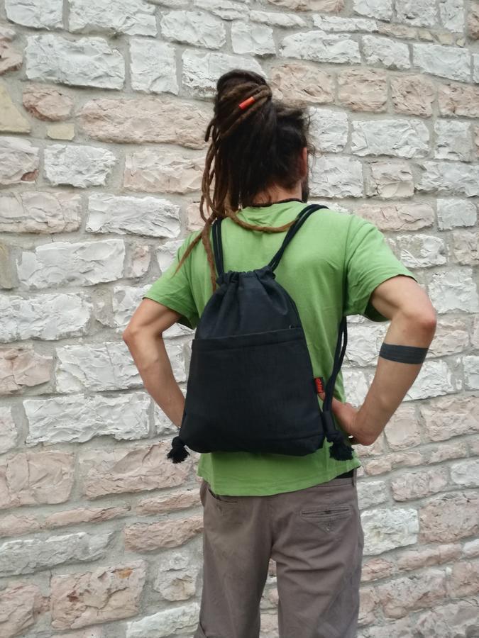 "Bag ""FREEDOM"" black"