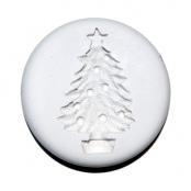 mould silicone decoro albero natale con palline