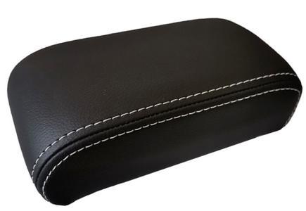 optional doppie cuciture bianche per bracciolo - solo per i braccioli in eco pelle nera