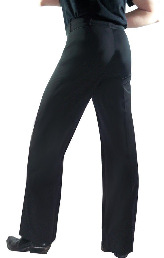 TANGO PANTS AND LATIN DANCES WIDE IN THE LEG WITH SEWED CENTRAL PENCE 7-0010