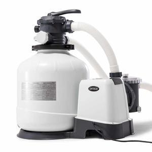 Pompa filtro sabbia per piscine INTEX 26648 universale piscine fuori terra 10500 lt/hr a 6 funzioni per piscina