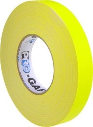 LeMark Gaffa Fluorescente Yellow 12mm x 25mt
