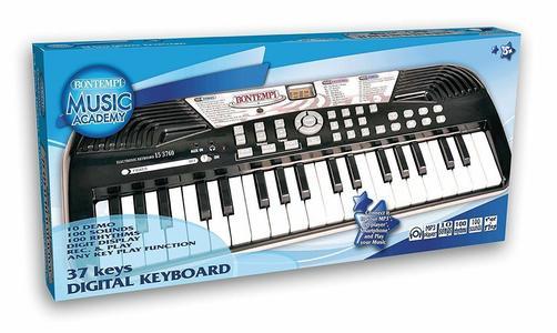 Bontempi 15 3760 Tastiera 37 Tasti Pianola Elettrica suoni ritmi Mp3