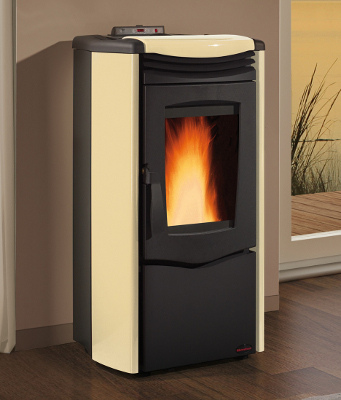 Stufa a pellet nordica extraflame melinda steel air - Stufe a pellet ventilate ...