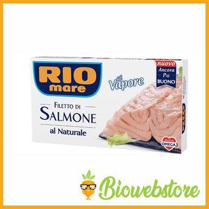 Filetto di Salmone al Naturale 250 gr