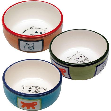 Ciotola in Ceramica per criceti - Arancio