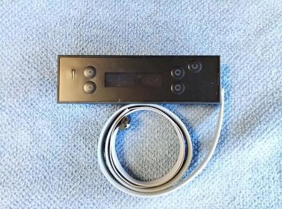 PANNELLO COMANDI DISPLAY LCD ORIGINALE MCZ cod 414508022 con CAVO fLAT