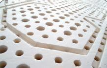 Materasso in Lattice 100% Mod. Iris Argento da Cm 100x190/195/200 a Zone Differenziate Sfoderabile - Ergorelax