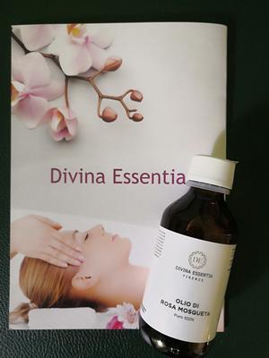 Olio di rosa mosqueta 100% puro, ecogreen, Divina Essentia Firenze