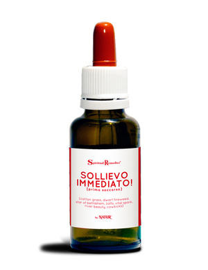 Sollievo immediato, rescue remedy naturmix