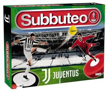 Subbuteo Playset Juventus con 2 Squadre Tappeto Gioco, 2 Porte, Pallone 6+