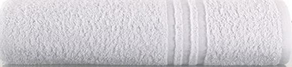 ASCIUGAMANO DOCCIA 100X150 cm SPUGNA 400 GSM DISEGNO 3 RIGHE - BIANCO