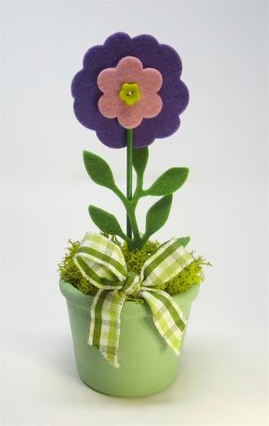 Fiore in vasetto