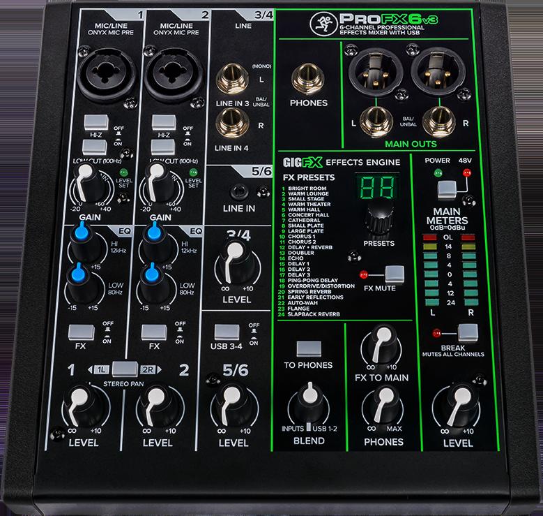 Mackie Pro FX6 V3