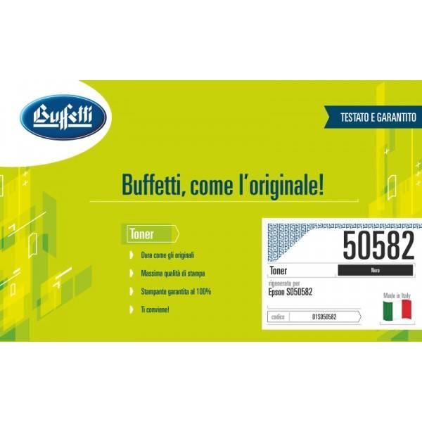 Toner Buffetti compatibile con Epson S050582
