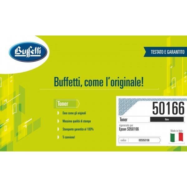 Toner Buffetti compatibile con Epson S050166