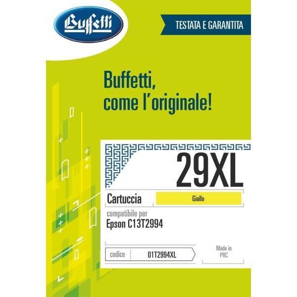 Cartuccia Buffetti compatibile con Epson 29XL Colore giallo