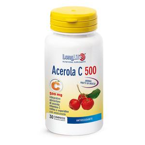 LONGLIFE ACEROLA C 500 - 30 compresse masticabili gusto limone