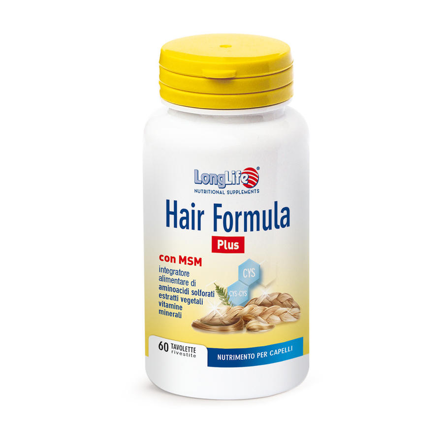 LONGLIFE HAIR FORMULA PLUS