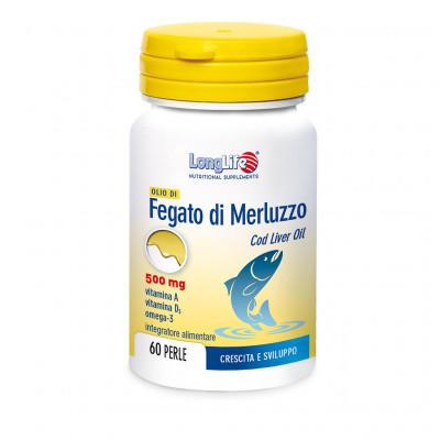 LONGLIFE OLIO DI FEGATO DI MERLUZZO 500 mg