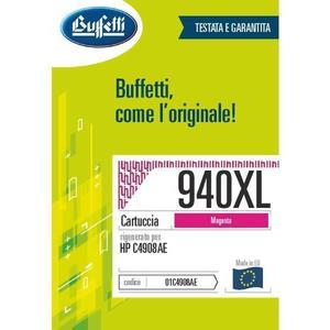 Cartuccia Buffetti compatibile con HP 940XL Colore magenta