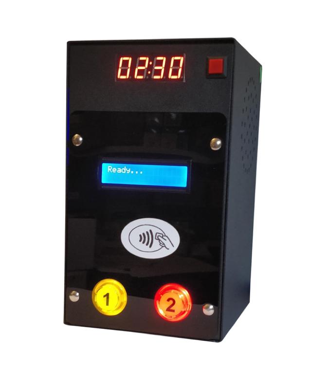 Lettore di CARTE/Braccialetti RFID per 2 Uscite a 12Vcc